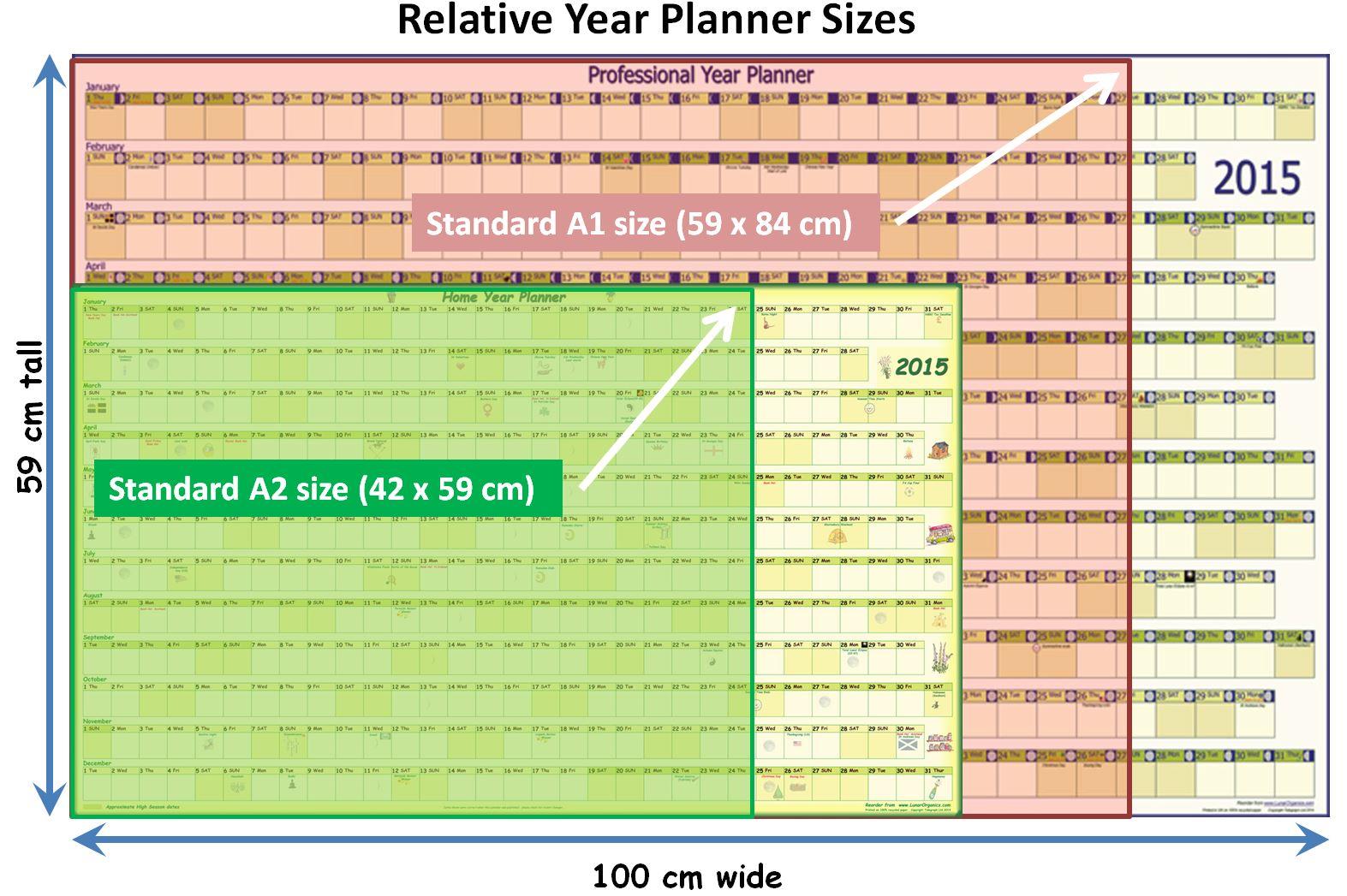 Home Year Planner 2018 Lunarorganics Com
