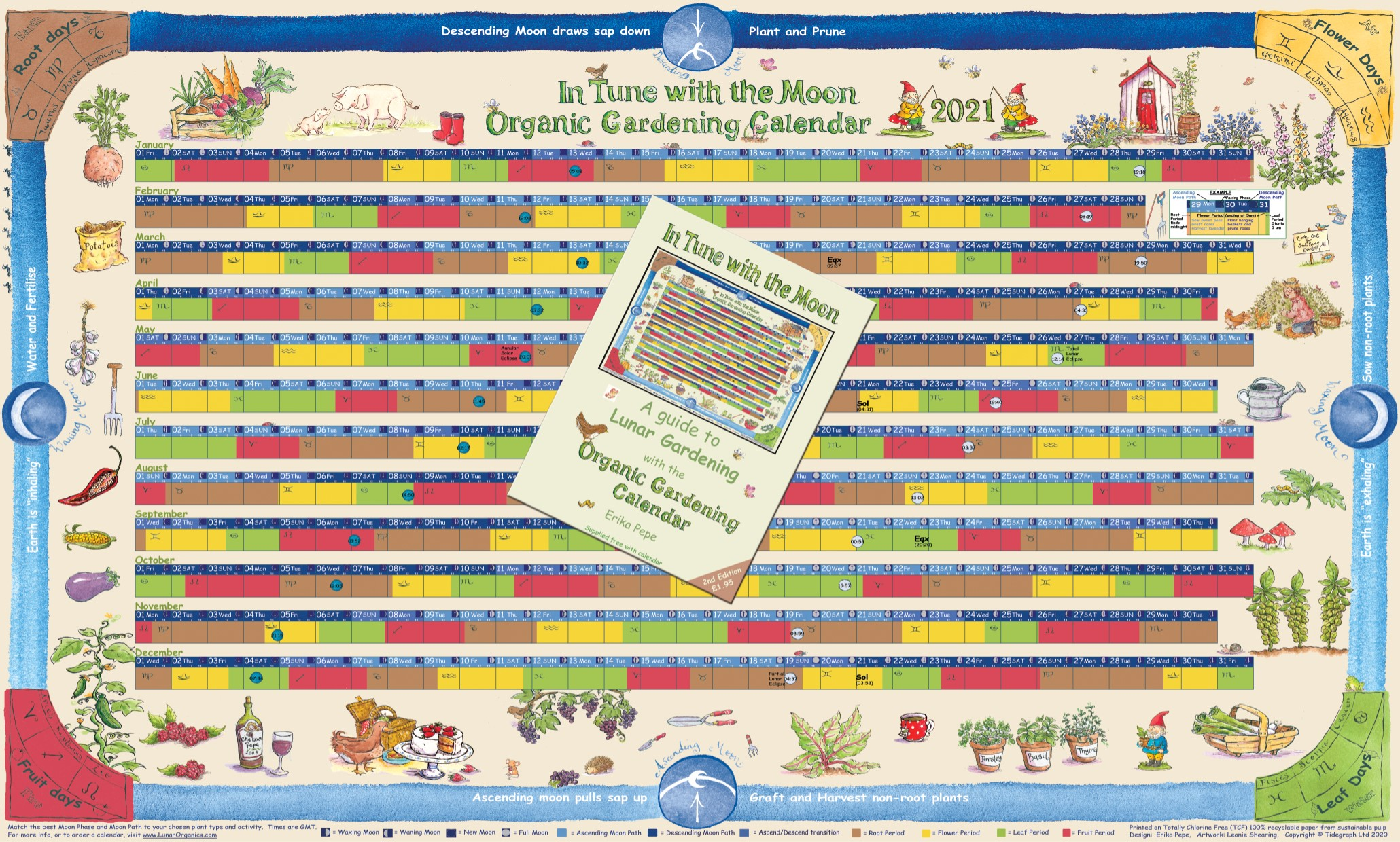 Images of Gardening Calendar 2021